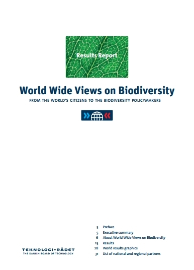 WWViews-Results-Report-Cover