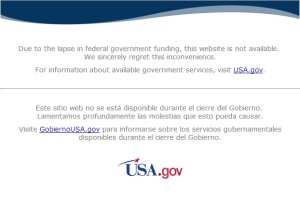 NASA shutdown