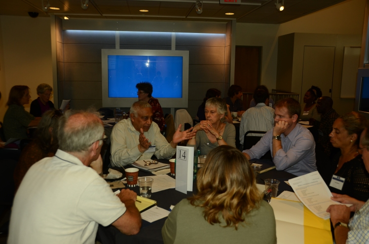 Discussing biodiversity in land, sea and benefit and cost sharing